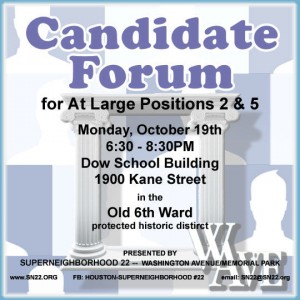 SN 22 candidate forum