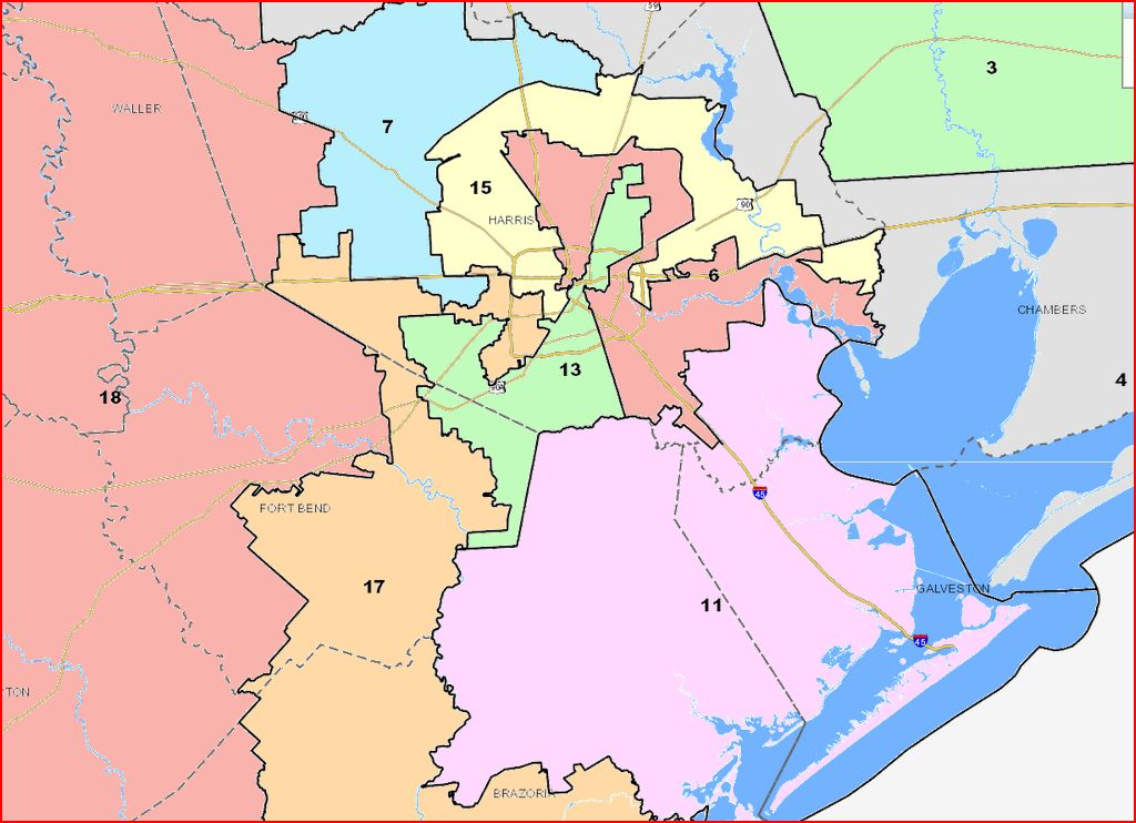 Map Of Texas Senate Districts.Senate Map Is Out Controversy Precedes It Off The Kuff