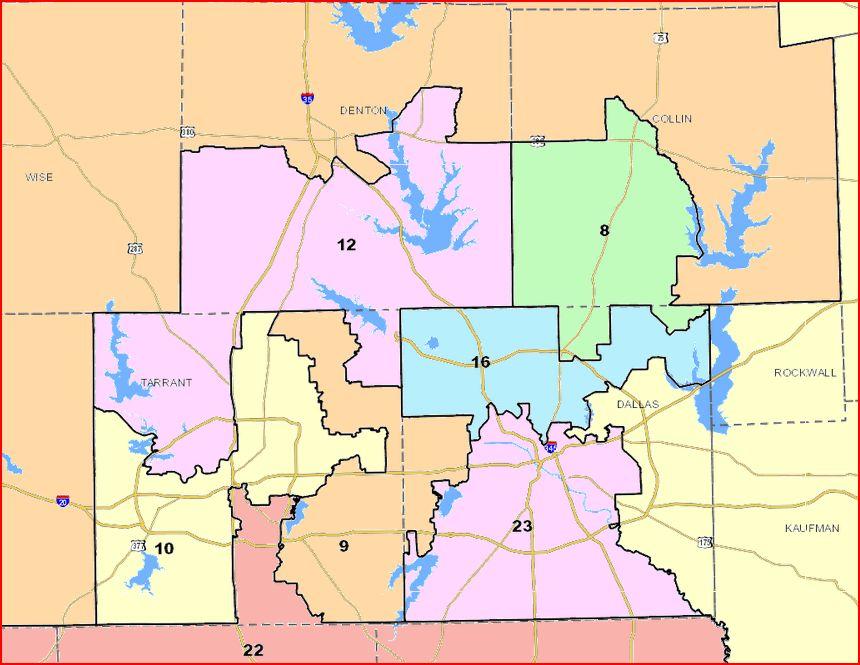 metroplex senate districts